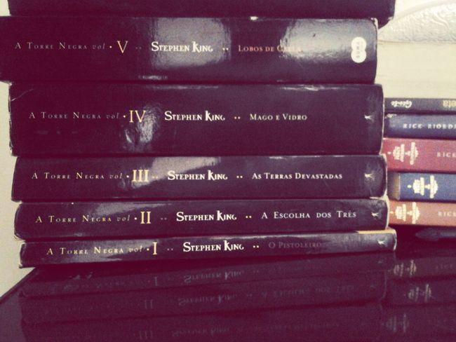 um dia eu completo minha coleção Dark Tower