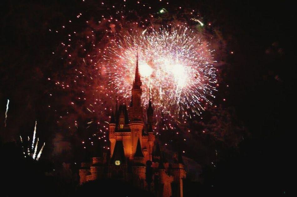 Disney DisneyWorld Magickingdom Walterdisney 2010 USA USAtrip Florida Relaxing Castle Fireworks Enjoying Life Beautiful Travel Tranquility Emotion Eyemphotography Hello World Eyeemphotography Life EyeEm Gallery Travel Photography Red Cinderella Castle Magic