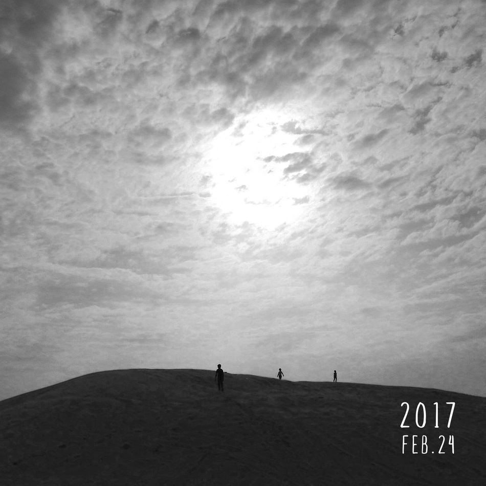 Desert Sand Dunes Sunset Taking Photos Cloud - Sky Clouds And Sky Cloudy Skies Drizzling Hanging Out Edited And Clicked By Me