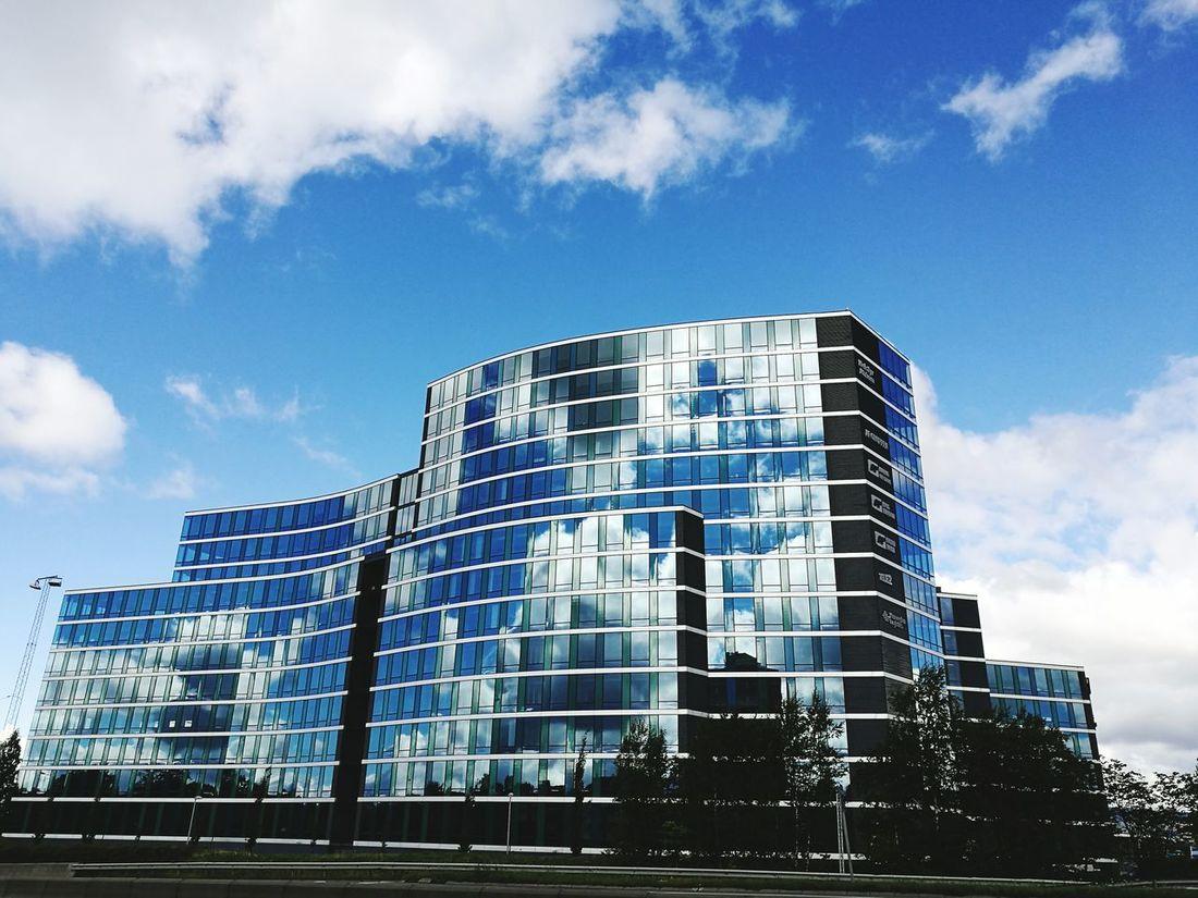 Helsfyr Norway Oslo Architecture Sky Blue