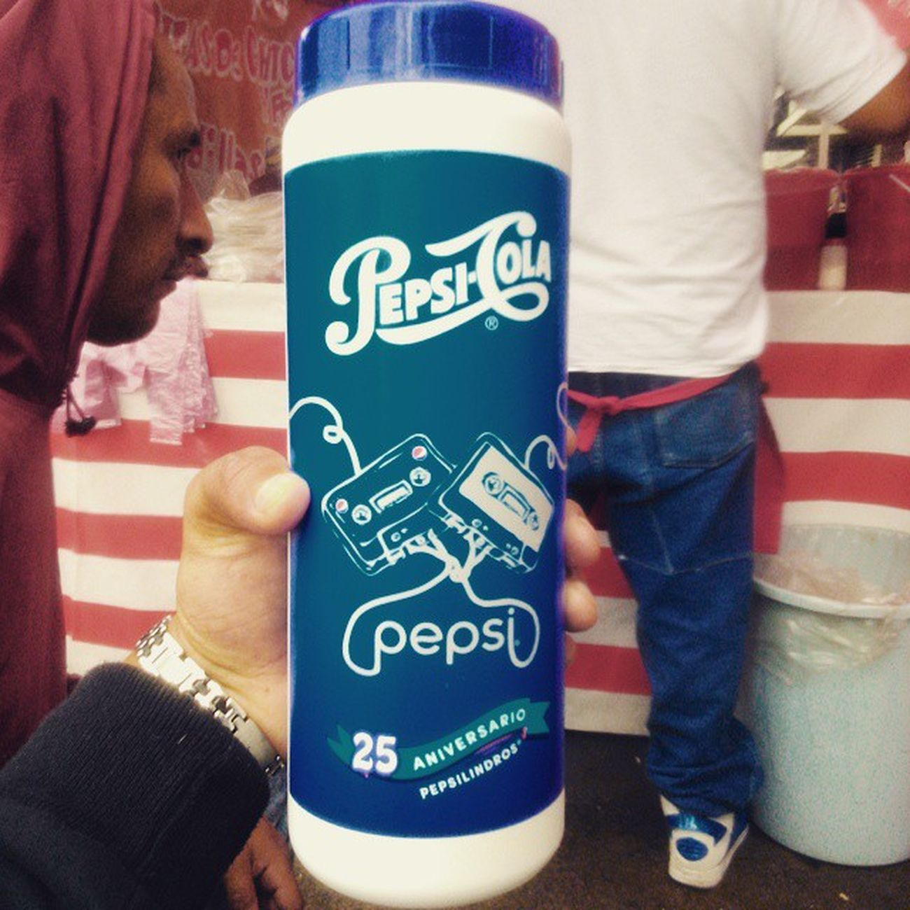 Me encanta mi Pepsilindro GraciasFernanda 😻❤