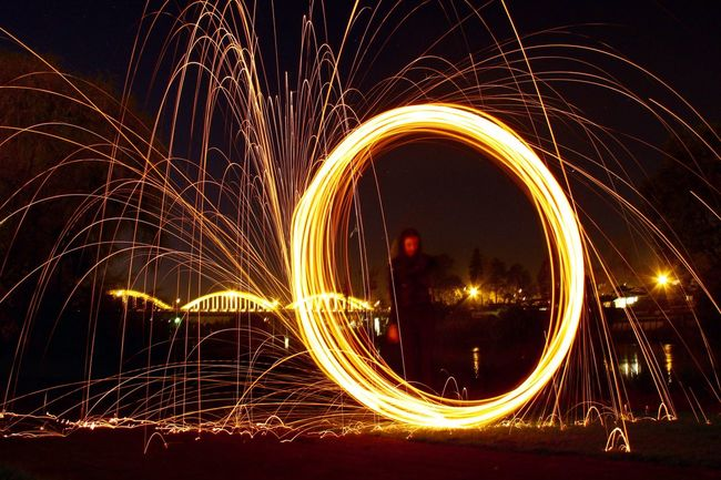 Steelwool Steelwoolphotography 43 Golden Moments Nightphotography Night Photography Long Exposure