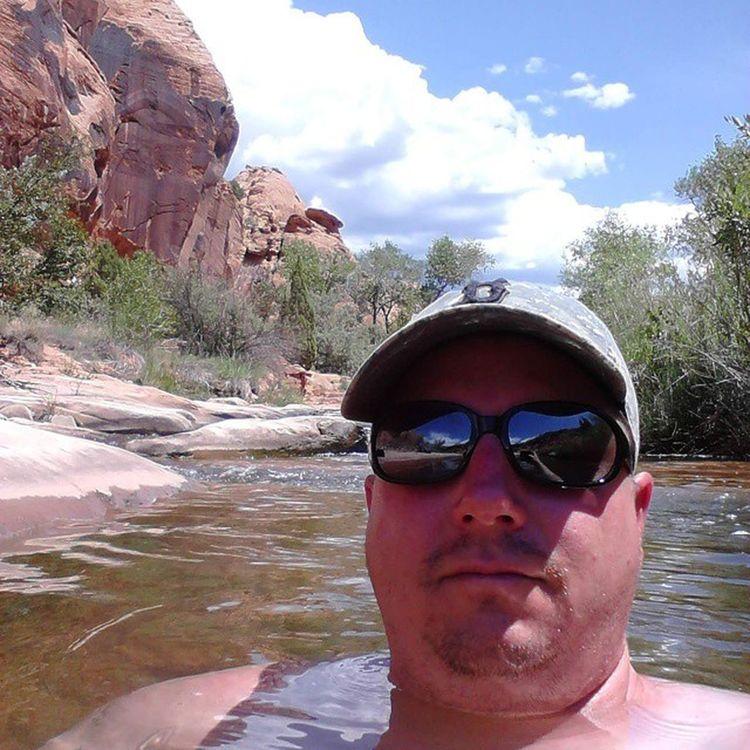Cowboy pools in Millcreekcanyon Moab