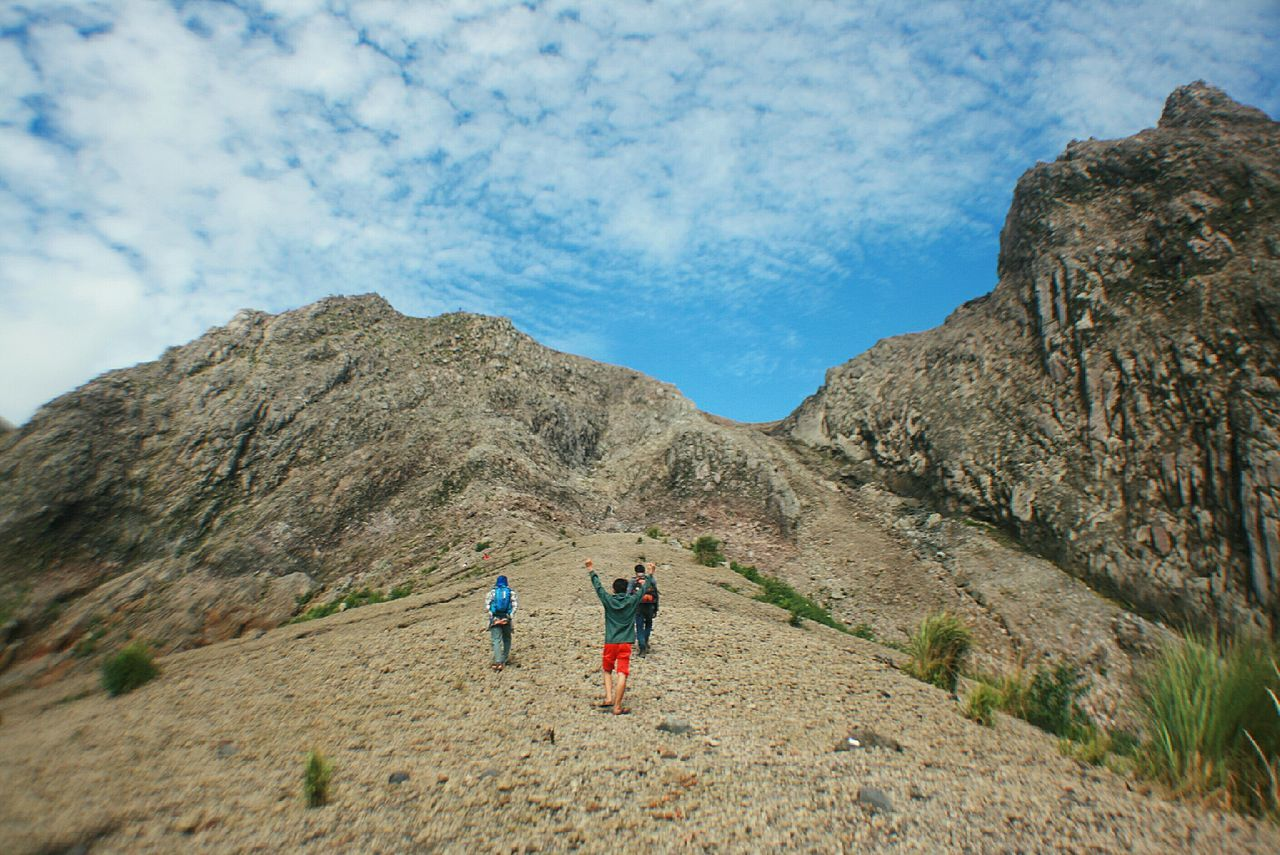Hike mount kelud after one year eruption in kediri eastjava, indonesia. Cloud - Sky Sky Real People Outdoors Nature Lifestyles Full Length Leisure Activity Landscape Beauty In Nature Togetherness People Day Adult Mountain View Mountain Mountain Range Rock Enjoying Life Enjoying Nature Enjoying The View Java Wanderlust Adventure Hiking