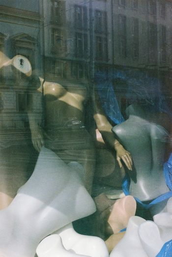 Analogue Photography Close-up Dolls Human Body Part Human Hand Indoors  Mannequin Mannequin Attack! Mannequin Model Mannequins Not Real People People Shopwindow Street Photography Window