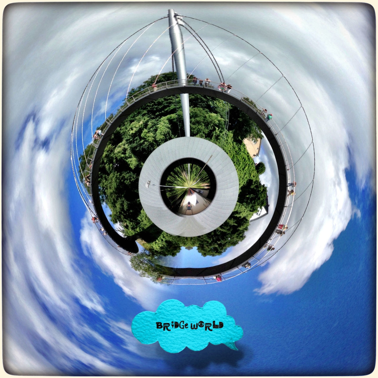 Tinyplanet Tiny Planet Tinyworld Roll World Tinyplanets Tinyplanetfx IPhoneography Iphoneonly IPhone Edited Bridge