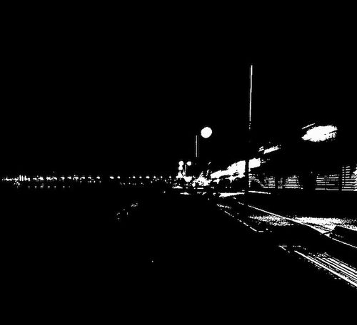 Black and white 🤔 Night Architecture Building Exterior City Built Structure Illuminated Outdoors Transportation Travel Destinations No People Cityscape Sky Nautical Vessel Water Nature