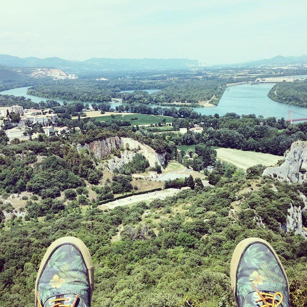 Viviers Climbing France Rhône