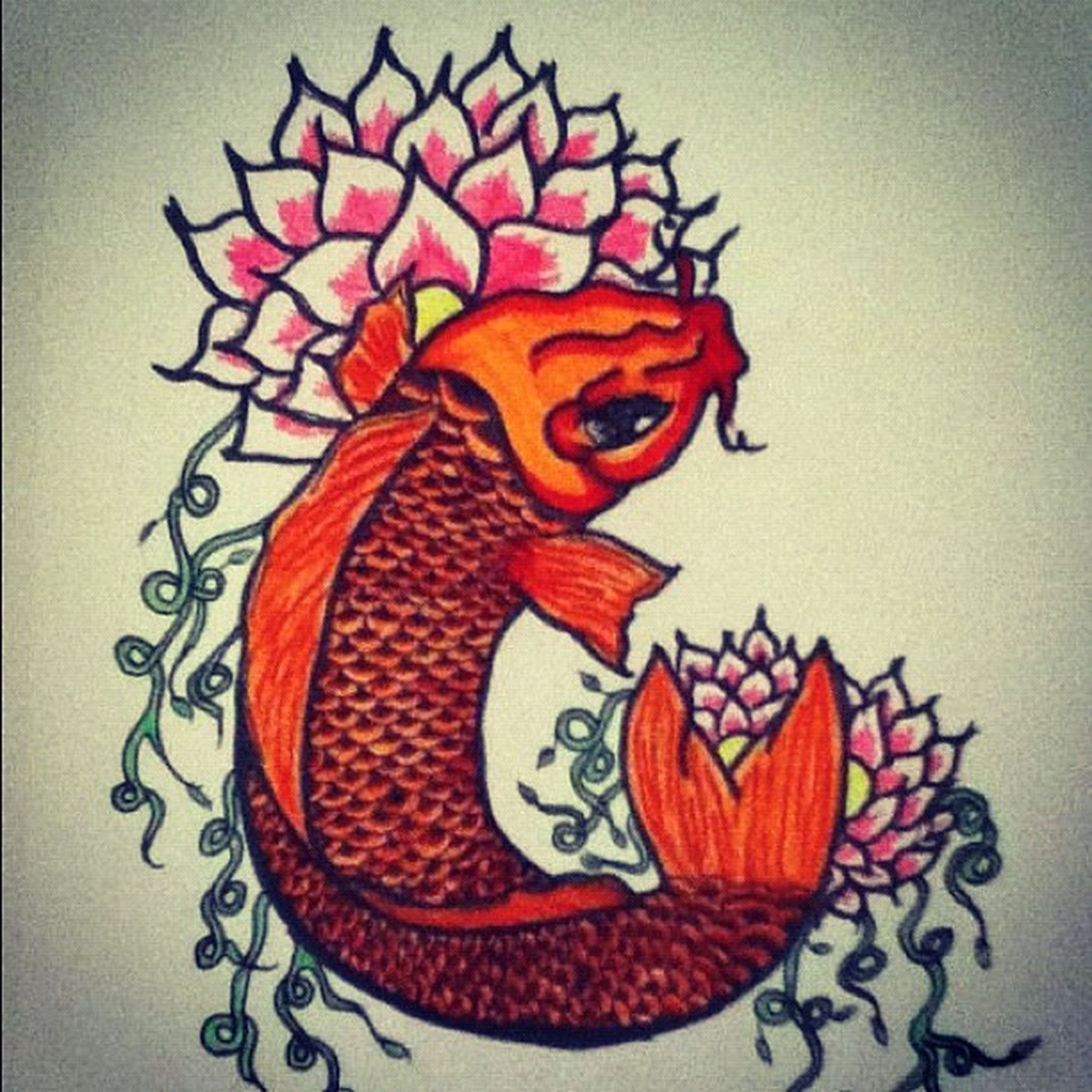 Art Koi_fish Marker_art