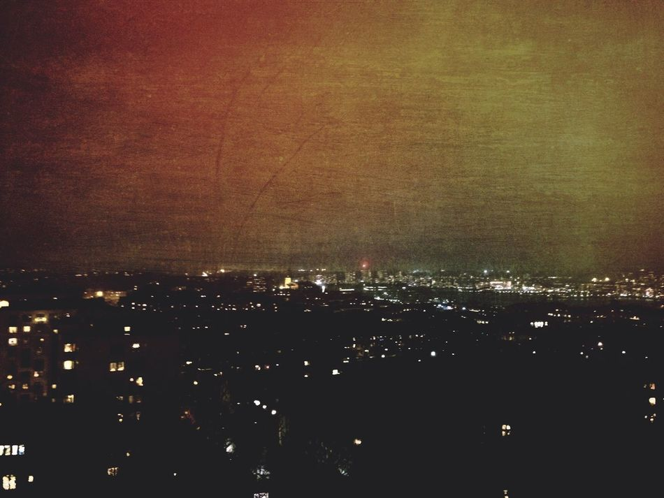 Cityscape Bynight Night Mextures Edited City
