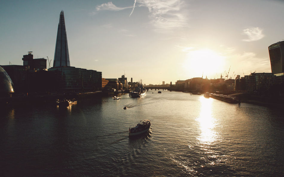 Beautiful stock photos of london, Architecture, Beauty In Nature, Boat, Built Structure
