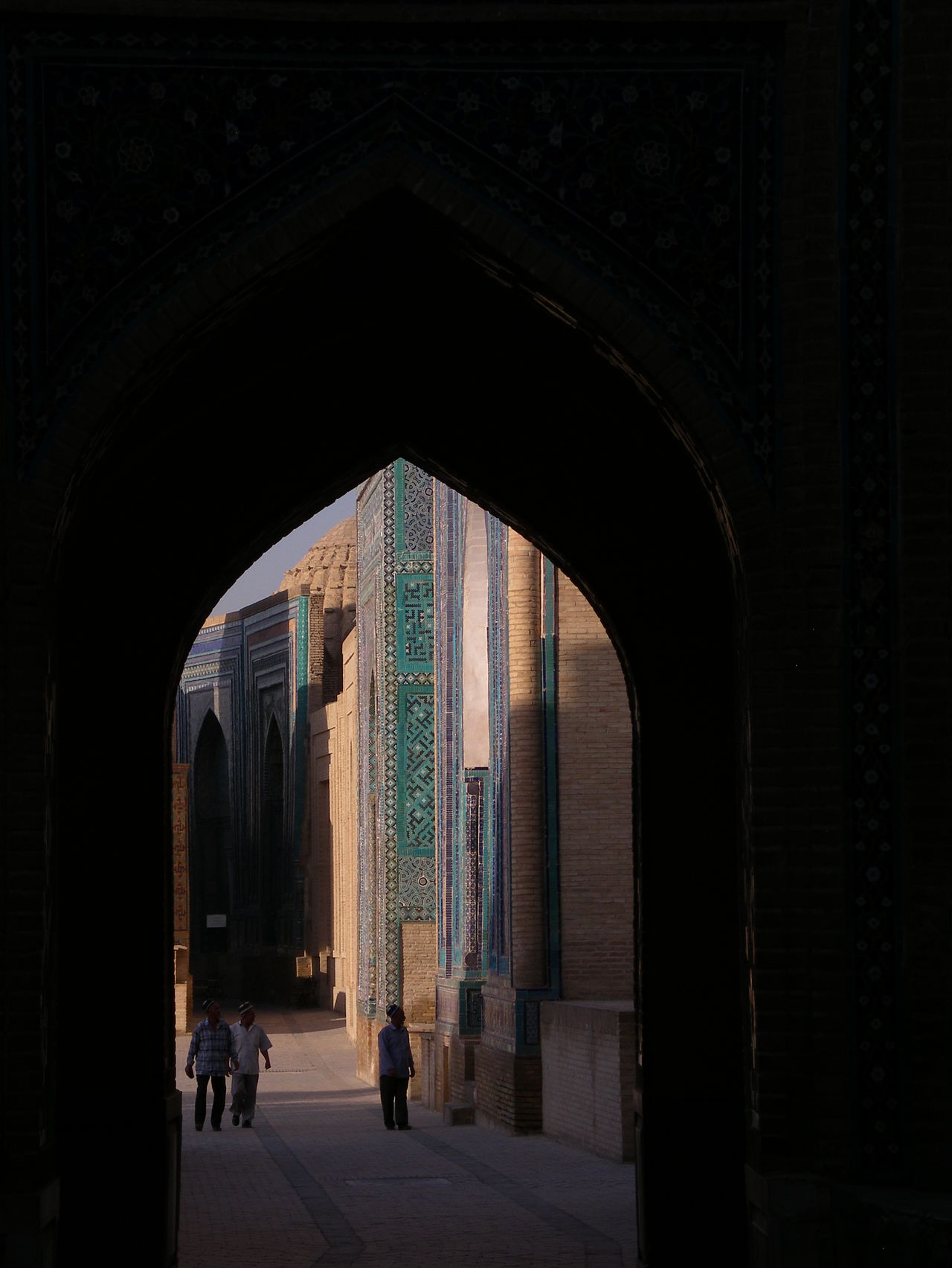View through an archway in Samarkand, Uzbekistan on the Silk Road Arch Architecture Architecture Archway Built Structure Full Length Indoors  Real People Samarkand Samarquand Silk Road Silk Road Adventure Silk Route Tourism Uzbekistan Fresh On Eyeem