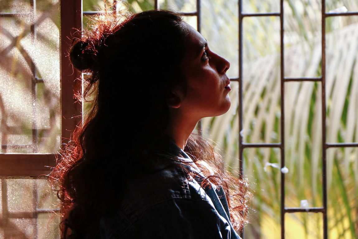 Contemplation Headshot Window One Person Side View One Woman Only Adults Only Indoors  Sunlight Day Young Adult Adult One Young Woman Only People Only Women Day Dreaming Close-up Lifestyles Multi Colored Arts Culture And Entertainment Ironeyephotography Cultures Photooftheday Life Is Beautiful