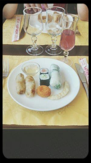 Repas chinois miam !
