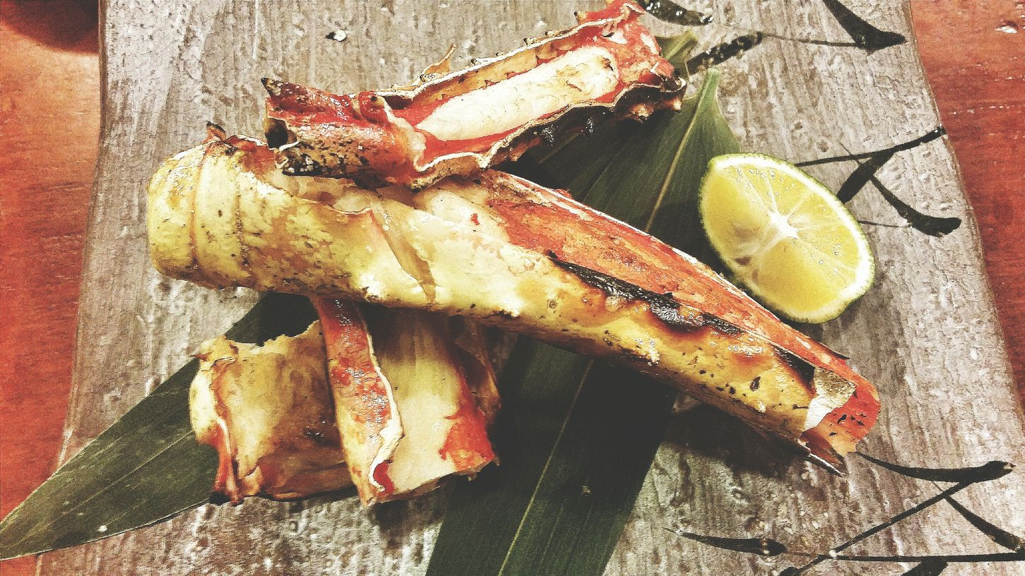 Grilled Snow Crab Robatayaki Singapore