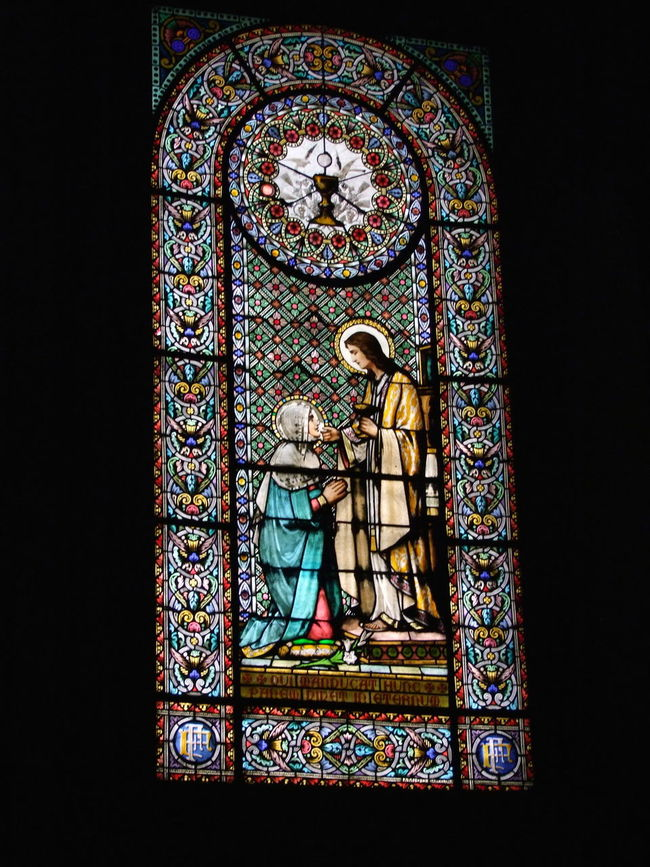 Stained Glass Window, Monastir de Monserrat (founded 1560-1592) Church Composition Dark Background Full Frame Indoor Photography Light And Dark Low Angle View Monastery Monserrat Multicoloured No People Ornate Ornate Design Pilgrimage Place Of Worship Religion Religious Art Spaın Spirituality Stained Glass Window Tourism Tourist Attraction  Tourist Destination