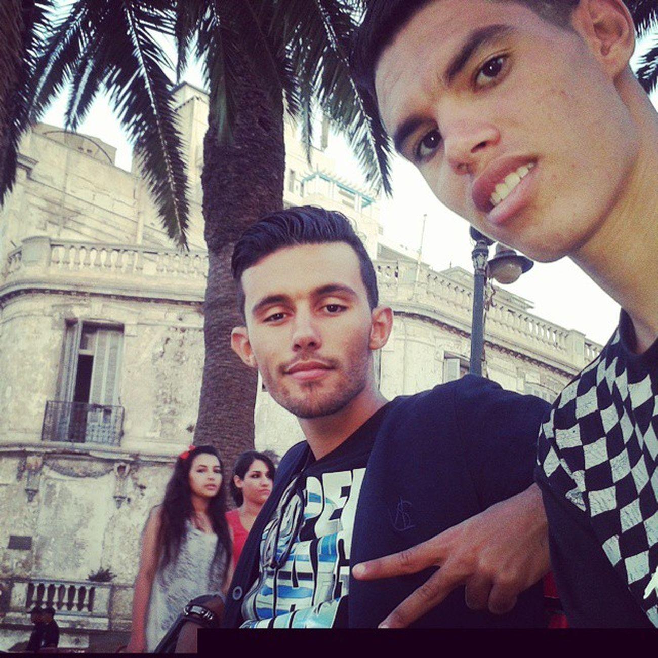 Me and sofi chillin a Oran :p!!! Issti9tal Instatall Feelinggood