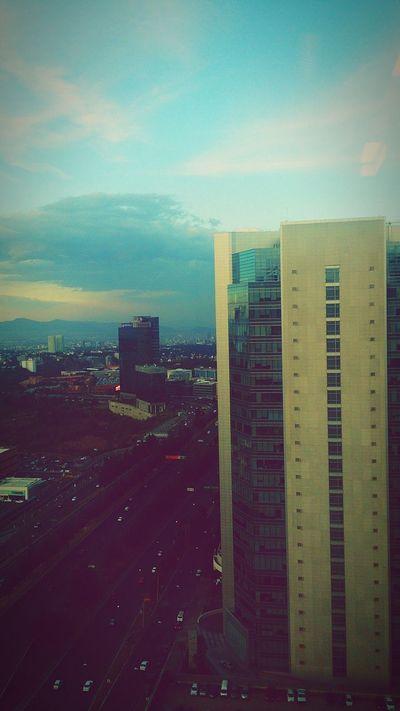 Vista desde mi oficina. Mexico City Santa Fe
