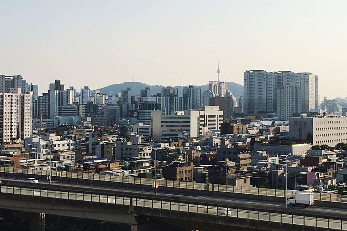 Battle Of The Cities Seoul city view City Cityscape Residential District Tower Seoul Korea