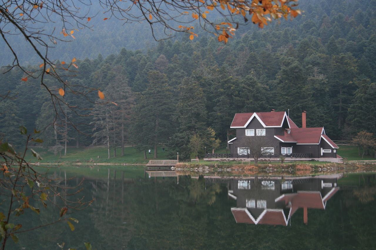 Auntumn Göl Lake Lake House  Nature Photography Reflections Scenic View Tranquil Scene Water Water Reflections