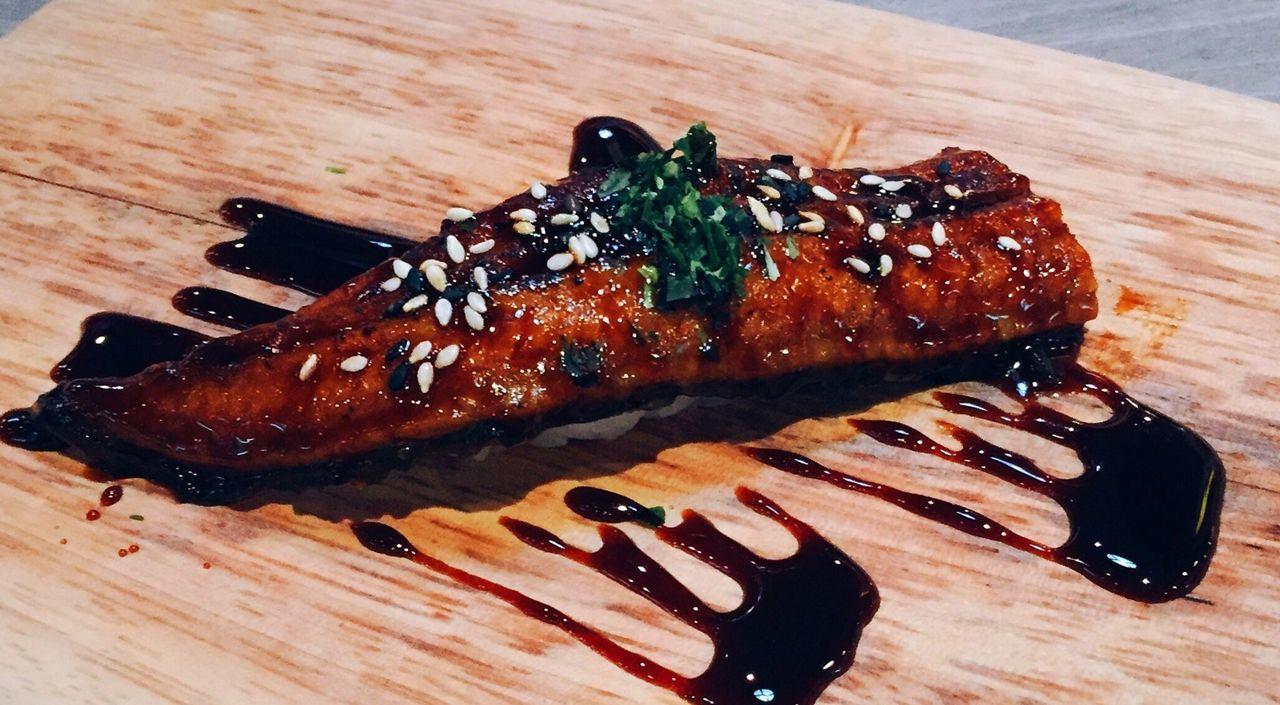 Food Unagi Sushi Japanese Food Fountain Asian Foods