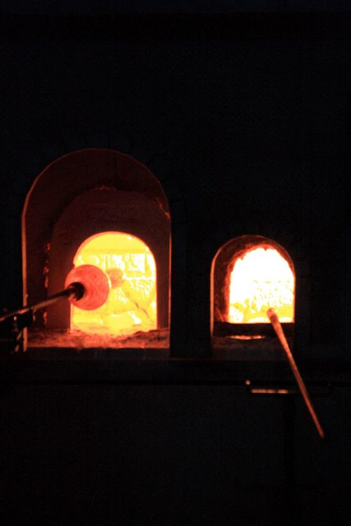 Furnaces Arch Arches Dark Fire Fires Flame Flames Furnace Furnace Door Furnace Doors Furnaces Glass Blowing Glass Making Hot Illuminated Inferno Murano 43 Golden Moments enice Venice Italy