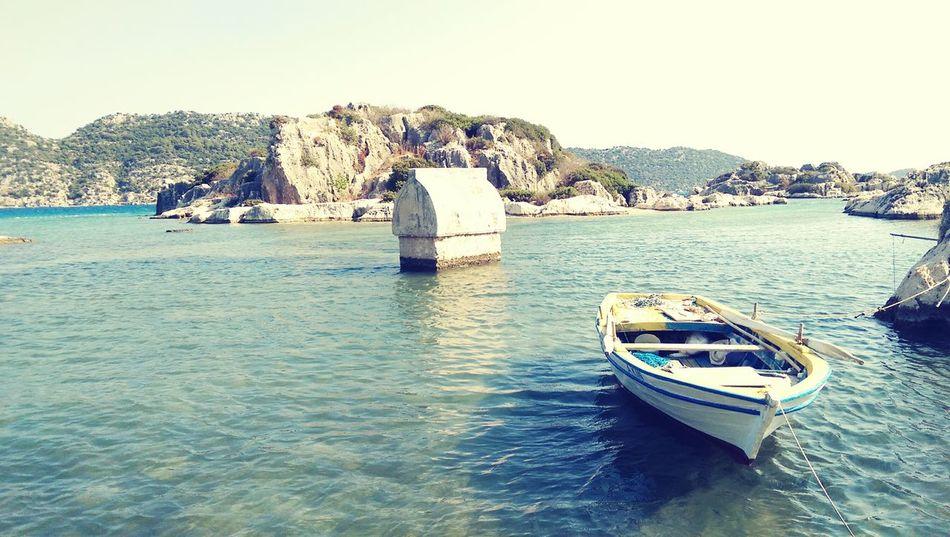 Sarcophage Lycia Mediterranean  Summer ☀ Antalya Ruins Turquoise Sea