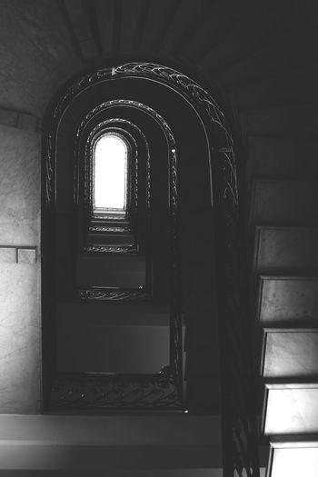 Genova. Consolato Svezia. Via Dante Alighieri Black And White Architecture Architecture_bw Architecture_collection Monochrome Streetphotography Stairways 24-70mm Eyem Stairways