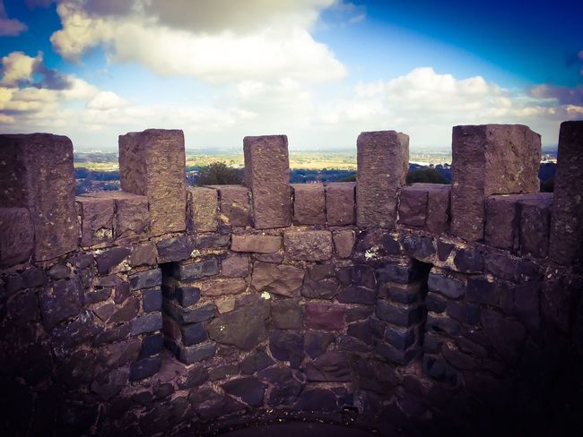 Sky Cloud - Sky Cloud Tourism Stone - Object Travel Destinations Stone Wall History Outdoors Day Concrete The Past Cloudy Stone Material Tranquility International Landmark Archaeology No People Tranquil Scene Castle Castle Ruin Castle View
