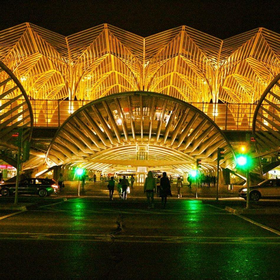 Gare do Oriente Lisboa Lisbon Calatrava Garedooriente