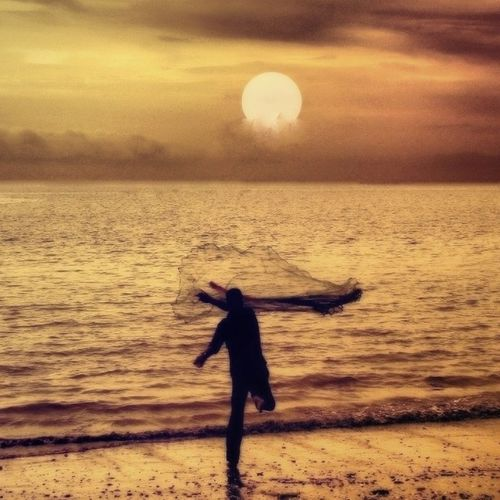 'heaving absence' Seashore Sunset Lonewalker Tranquilmind Love4All