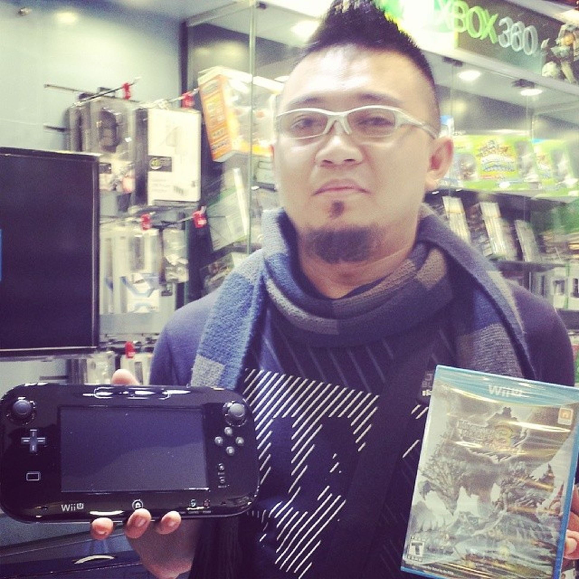 The long wait is over!!! I can now play online!!! Monsterhunter3ultimate WiiU Nintendo Clubnintendo miiverse onlineplay localplay
