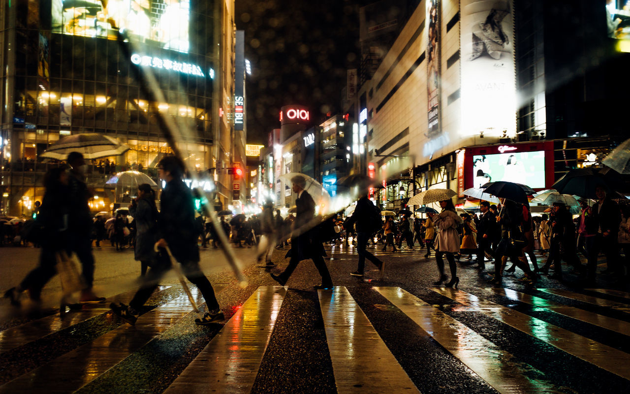 From My Umbrella ◀🚶♀️🚶☔️🌃🇯🇵 Shibuyascapes Glitch Rainy Days Golden Shimmer Showing Imperfection Capture The Moment Atmospheric Mood Battle Of The Cities City Day Enjoying Life EyeEm Best Shots Illuminated Reflection Light And Shadow Night Outdoors People Silhouette Street Photography Urban Exploration Lifestyles EyeEmBestPics Urban Lifestyle