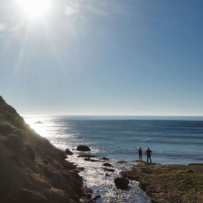 """Man cannot discover new oceans unless he has the courage to lose sight of the shore."" -- André Gide Pointreyesnationalseashore Pointreyes Bolinas Alamerefalls palomarin california hiking visitmarin visitca"