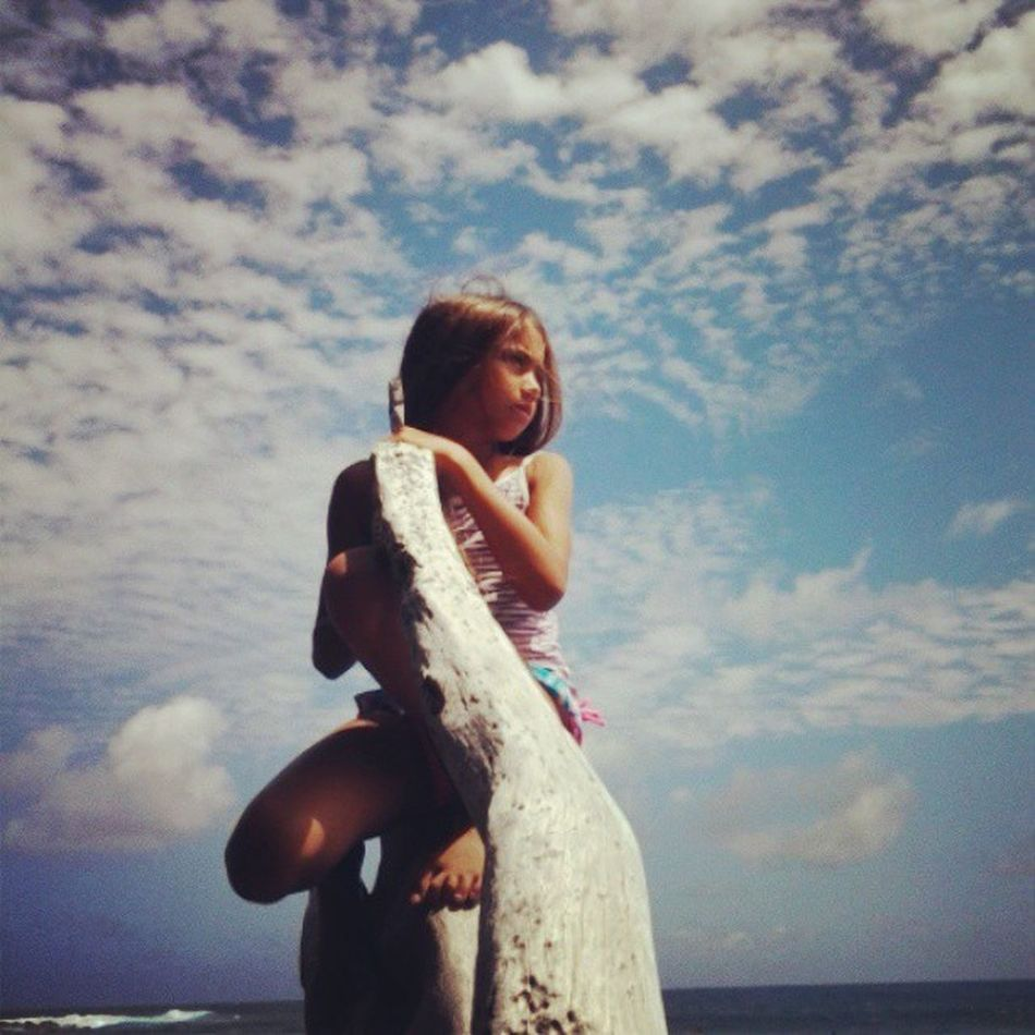 My Kai♡ My_youngest 10 Mybebeh Ouradventures Latepost EastSide Bigislandlove H2o Hawaii Luckywelivehawaii Instagood Instaphoto Instalove Family Fluffy Clouds Blue Skies Qualitytime Justustwo