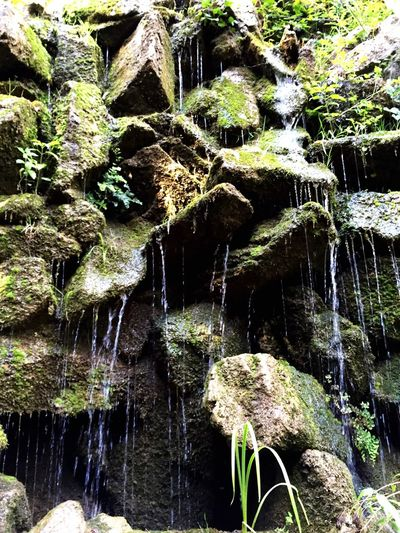 Water flows down The Stones i love Nature what a Peaceful World Laberintdehorta Laberinto Barcelona SPAIN Catalunyaexperience