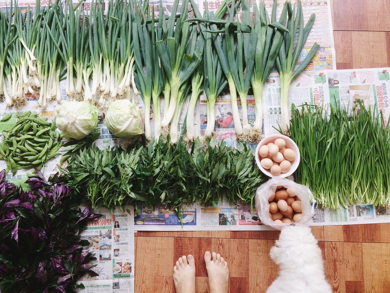 來自阿姨家的禮物。 Freshness Variation Vegetable Healthy Eating Food And Drink For Sale Arrangement IPhoneography Food Choice Green Bean Close-up Indoors  Cabbage Day
