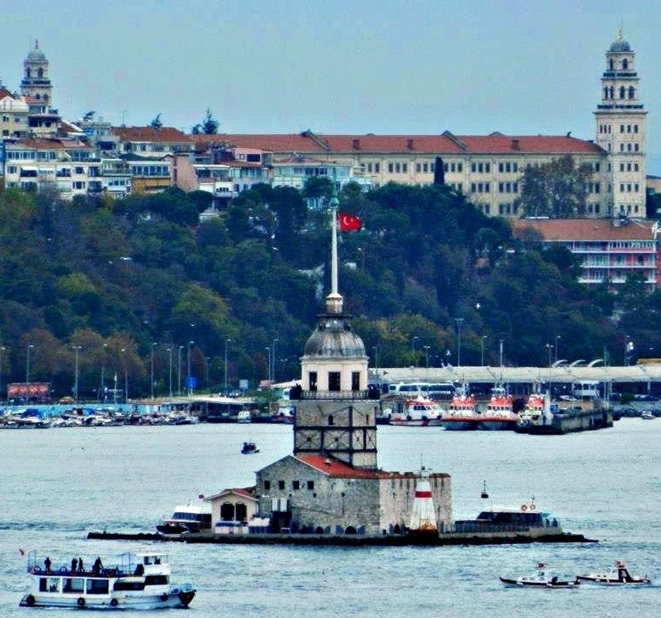 GetYourGuide Cityscapes Maiden Tower Turkey