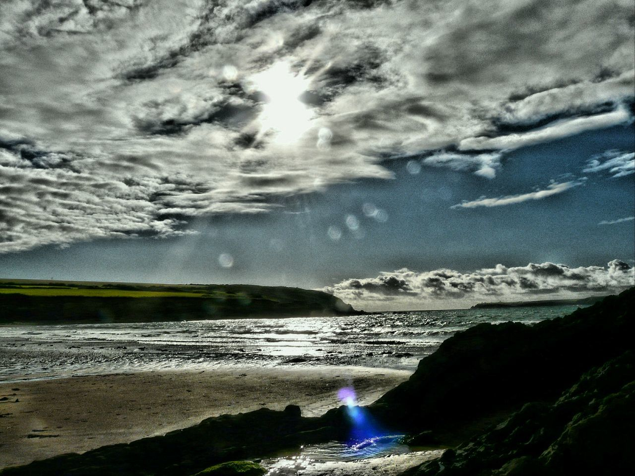 Summer Memories 🌄 Nature On Your Doorstep Angle Pembrokeshire Sparkling Sea Sunrays On Water Edit Photo Sea Sky Water