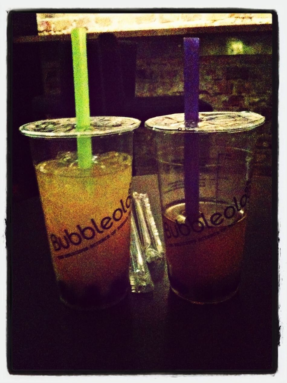 Perfect weekend with friend in Bubble Tea World :)