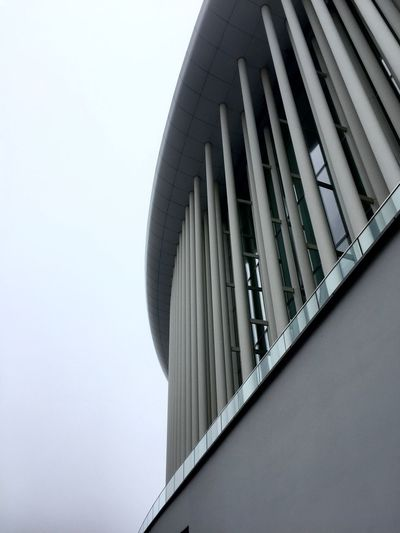 Architecture Building Exterior Built Structure City Curves Fog Lines Low Angle View Modern No People Outdoors Sky EyeEmNewHere