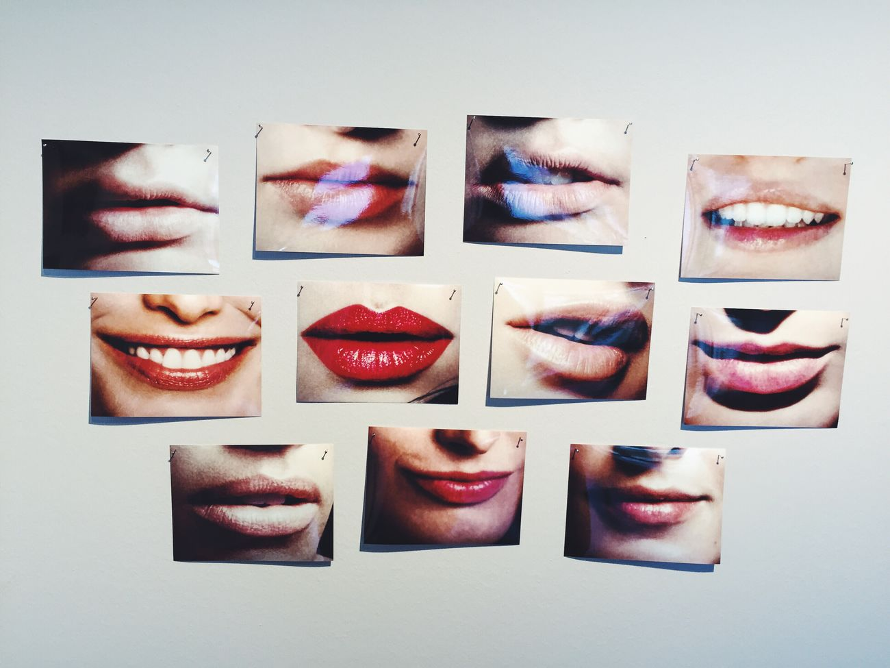 Fantastic Exhibition Art Lips Hans Peter Feldmann Eyeemoninstagram VSCO Photography Berlin Getting Inspired White Album Discovering Great Works