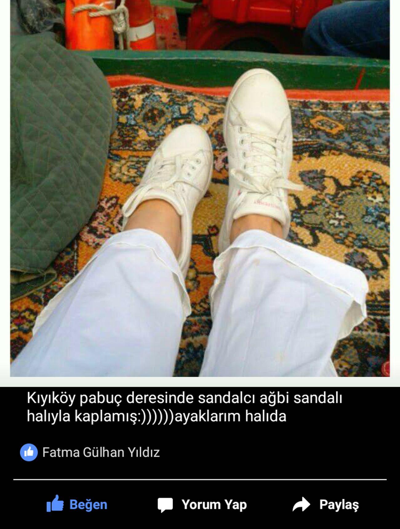 Sandal Kıyıköy Pabuç Deresi Korkak Ben😯