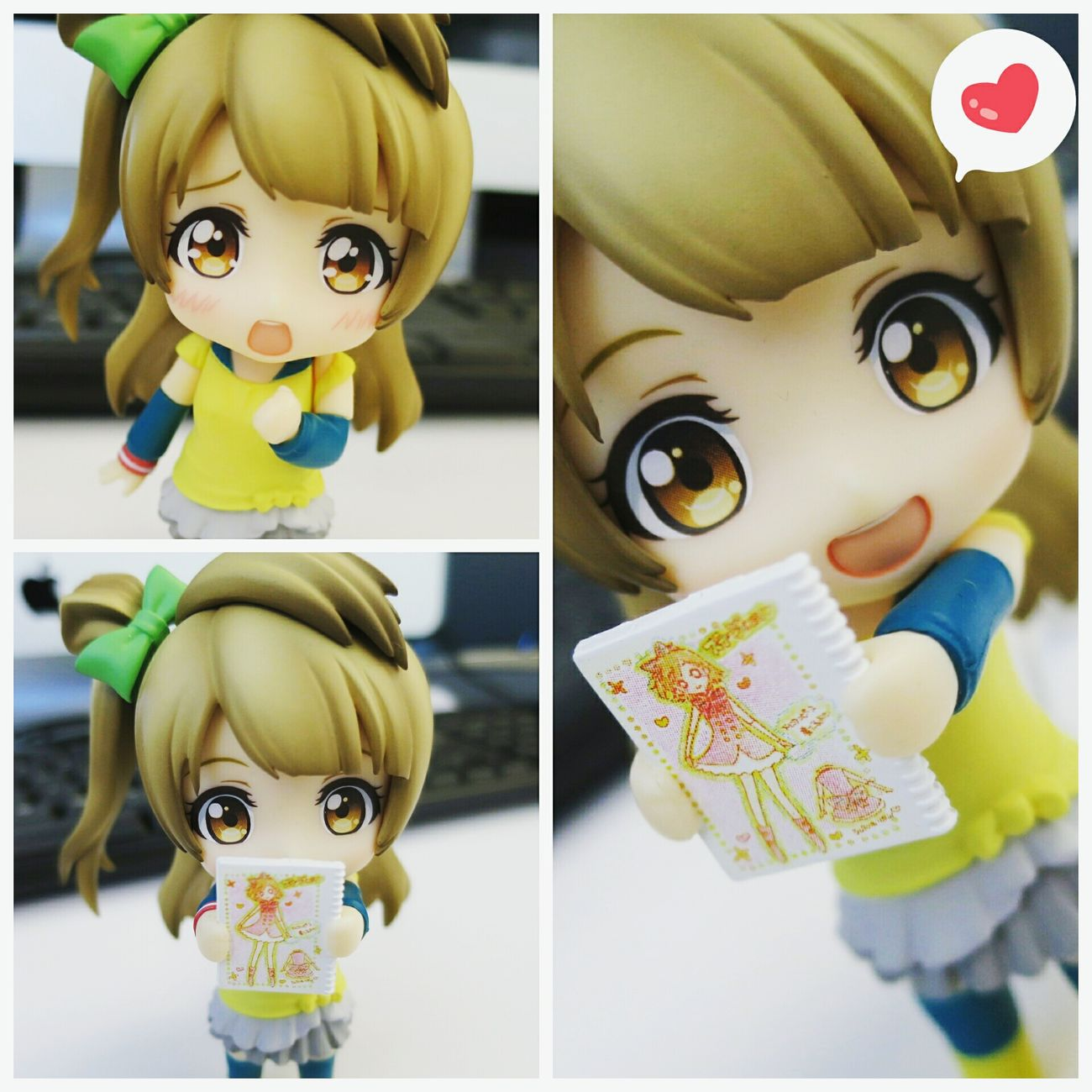 Ugh Kotori is soo cute😍💕 Nendoroid Nendophotography Goodsmilecompany Toyphotography Figurephotography Kotoriminami Lovelive Animefigure