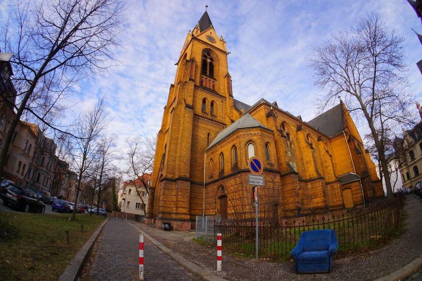 Stephanuskirche Halle (Saale) Sachsen-Anhalt Saxony Anhalt Kirche Church