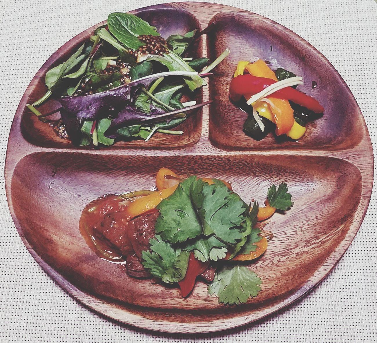 夜ご飯🌙2017.03.21 Food Plate Pickles Pepino Paprika Lomo Saltado Pumpkin Salad