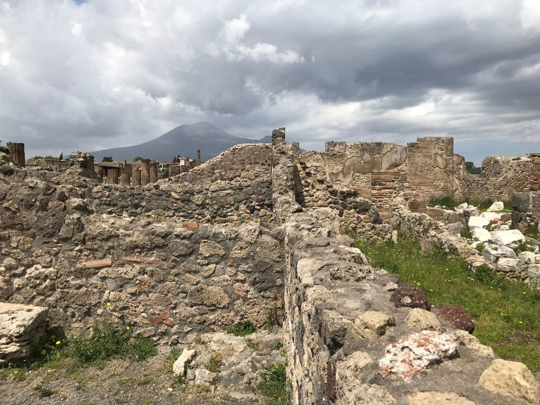 Rocks Archeology Ruins Ruins Of A Past Old Roman Place Pompeii  Outdoors Built Structure