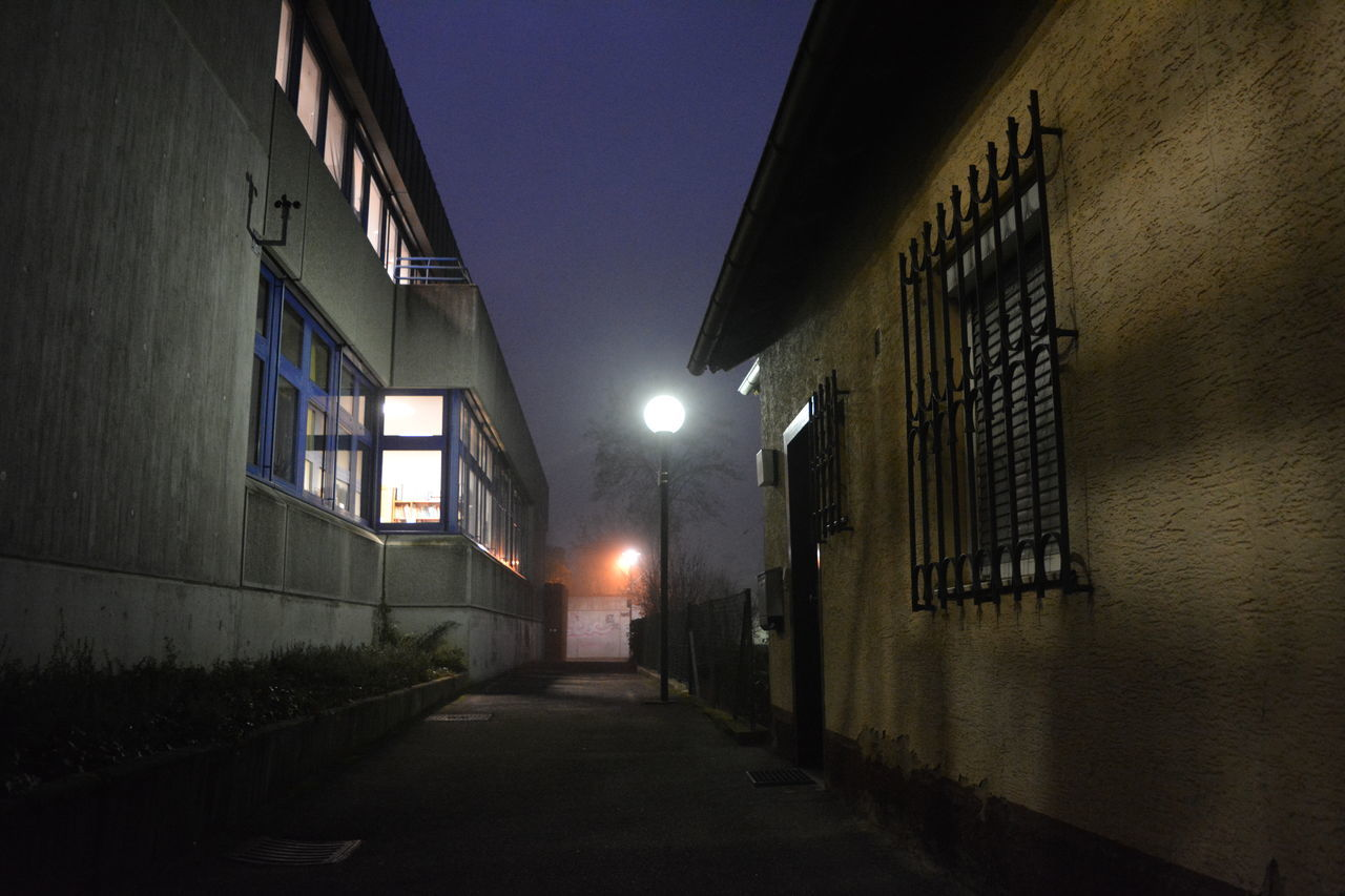 Always On A Journey Architecture Building Exterior Built Structure Dawn EyeEm Best Shots EyeEm Gallery EyeEmNewHere Historic City Illuminated Lights Lilac Lilac Sky Love Life Night No People Old School Outdoors Perspective Purple Relaxing Sky Spooky Street Adapted To The City