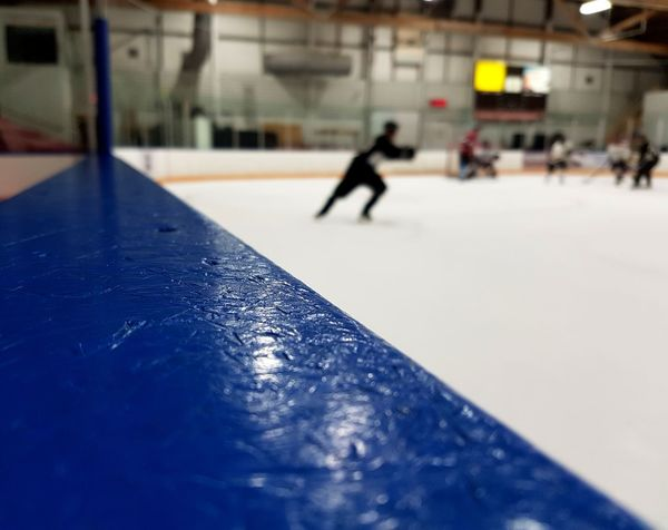 hockey game Arena Bench Boards Ice Rink Winter Sport Ice Hockey Ice Sport Ice-skating Hockey Indoors  Winter Leisure Activity Cold Temperature Taking A Shot - Sport Ice Skate Competitive Sport Skill  Competition Lifestyles