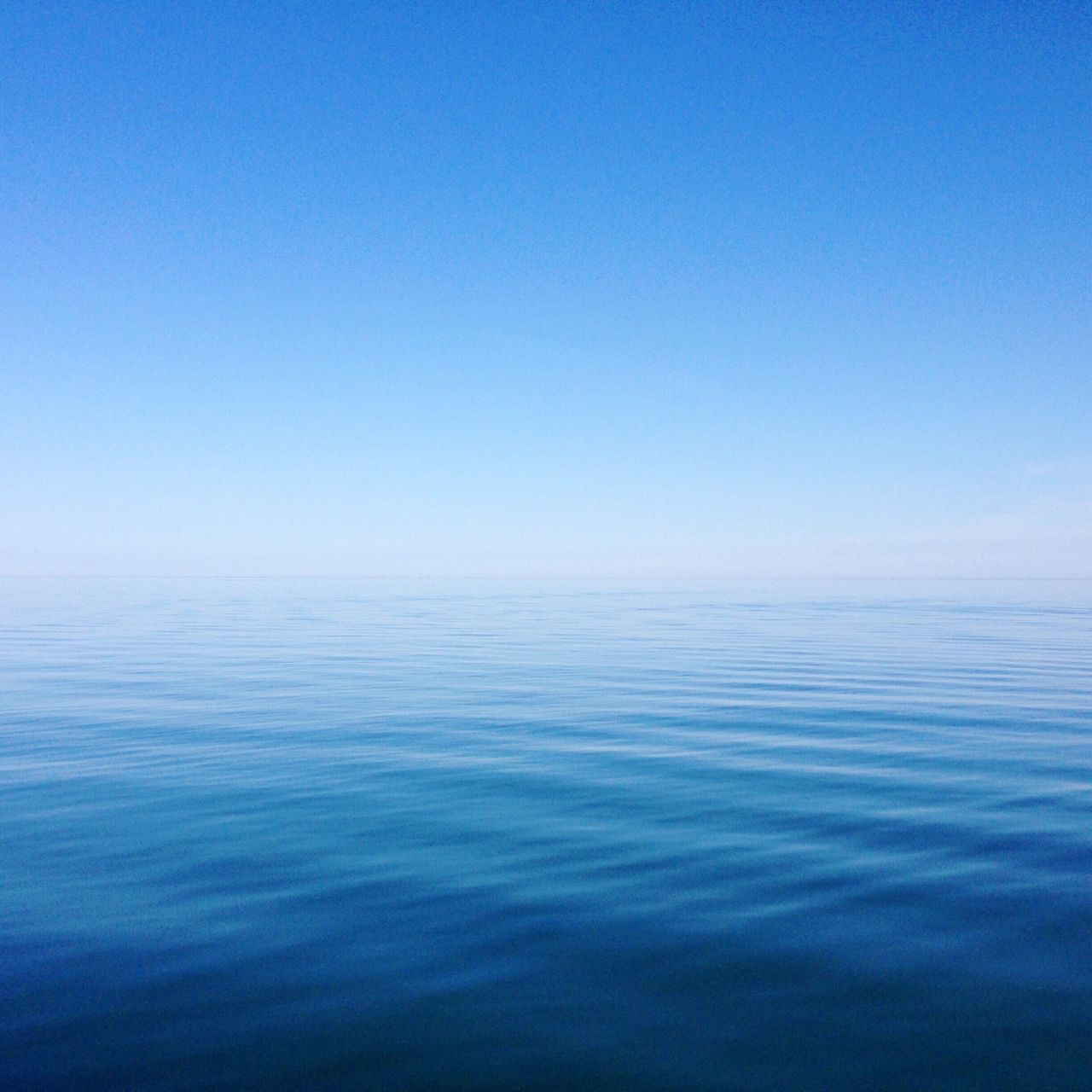 Scenics Blue Tranquility Sea Water Tranquil Scene No People Clear Sky Horizon Over Water Sky Blue Sky Blue Water Ocean Lake Great Lakes Ontario Canada Beauty In Nature Peaceful Zen Meditation Ripples Ripples In The Water Rippled Water Waterscape